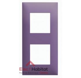 Plaque double horizontale/verticale pourpre Arnould Espace Evolution 64442
