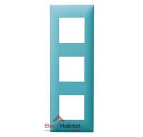 Plaque triple horizontale/verticale Turquoise Arnould Espace Evolution 64423