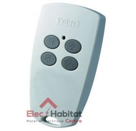 Télécommande 4 canaux power TLC4CP Yokis 5454425