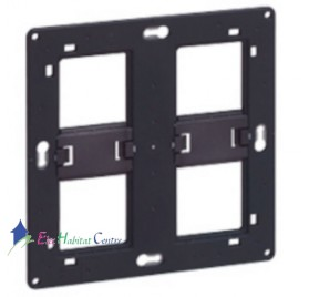 Support 2x4/5 modules Céliane, Mosaic Legrand 080264
