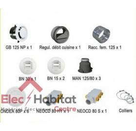 Kit accessoires OPTIMOCOSY HR pieuvre Atlantic 412242
