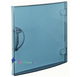 Porte transparente coffret 1 rangée 13 modules Hager GP113T