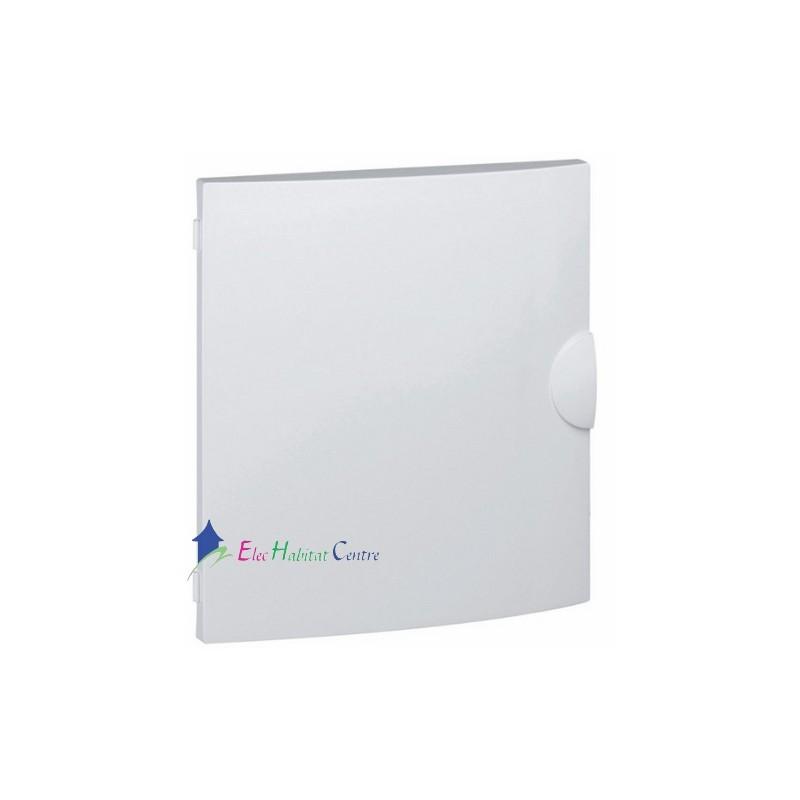 Porte blanche coffret lectrique 1 rang e 18 modules de - Blanche porte adresse relais ...